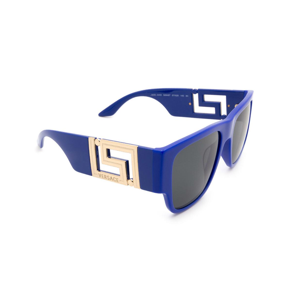 Versace® Square Sunglasses: VE4403 color Blue 529487.