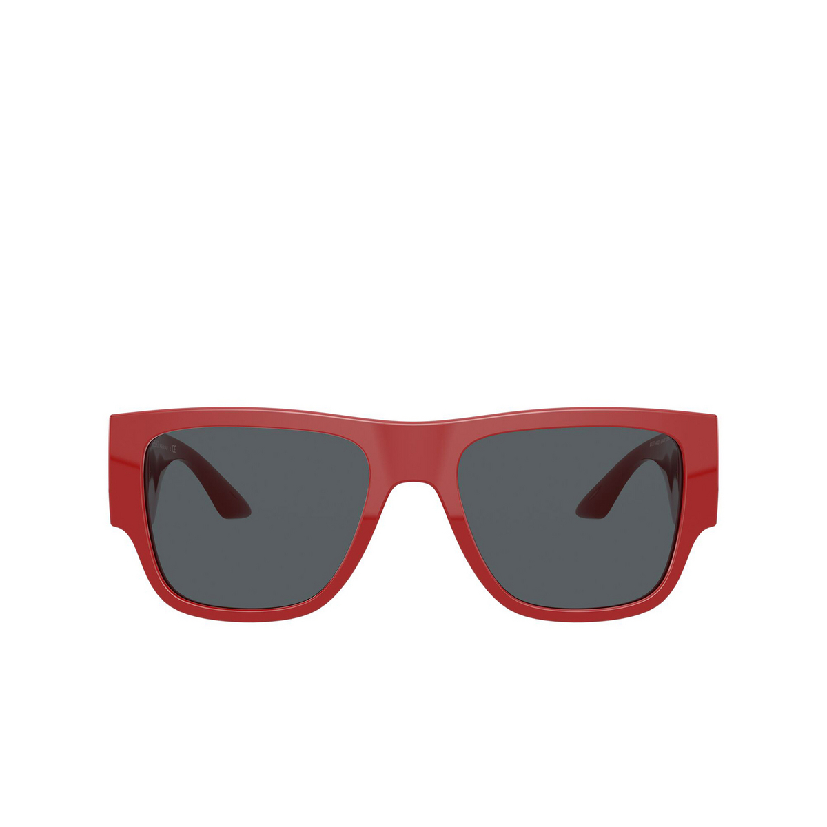 Versace® Square Sunglasses: VE4403 color Red 534487 - front view.
