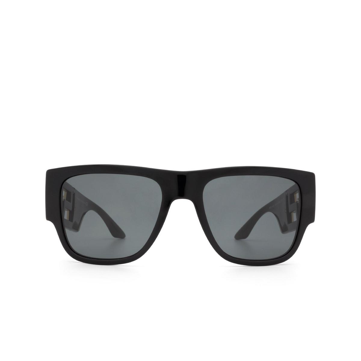 Versace® Square Sunglasses: VE4403 color Black GB1/87.