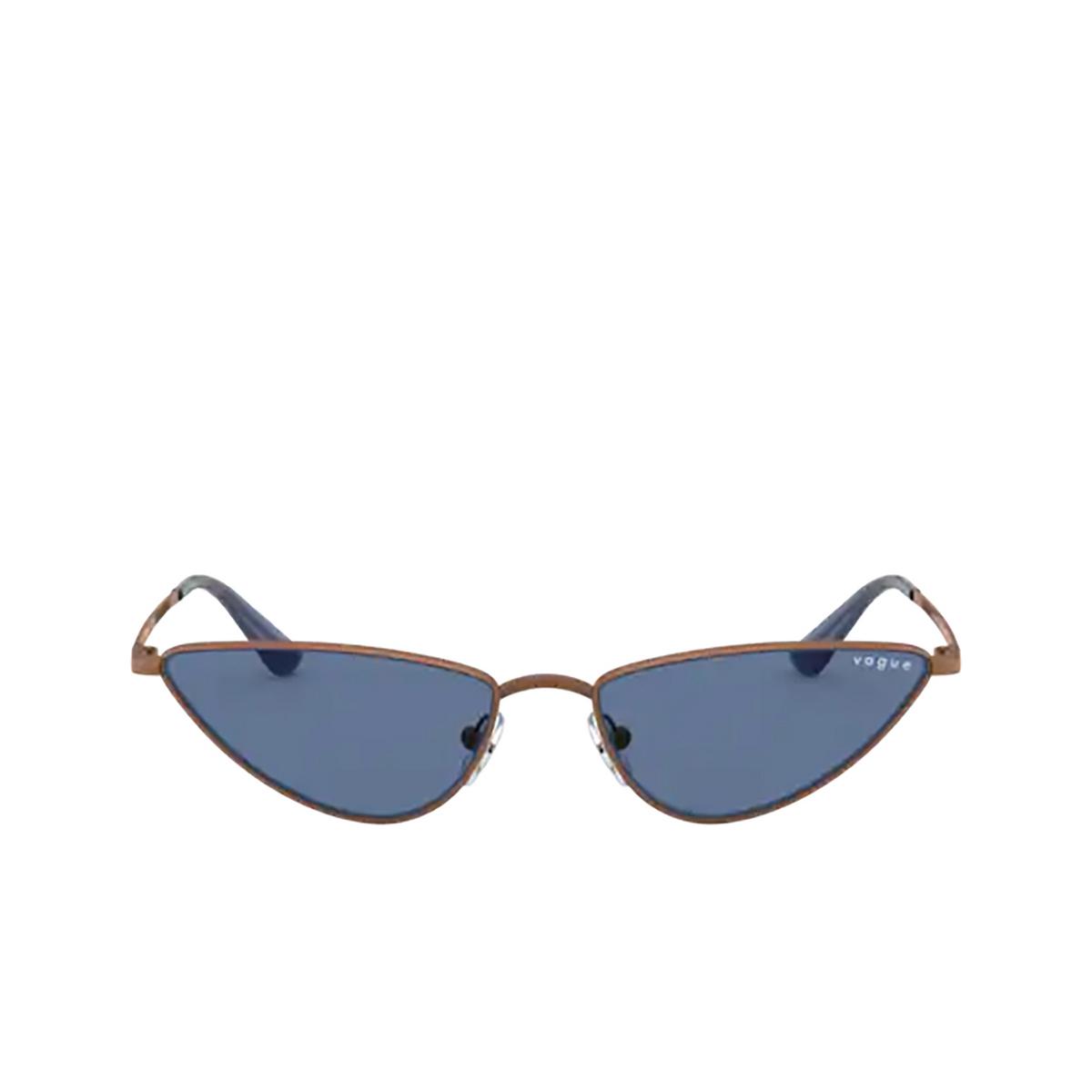 Vogue® Cat-eye Sunglasses: La Fayette VO4138SM color Copper 507420 - front view.