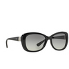Vogue® Butterfly Sunglasses: VO2943SB color Black W44/11 - product thumbnail 2/3.