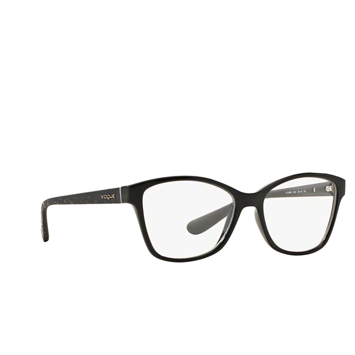 Vogue® Square Eyeglasses: VO2998 color Black W44.