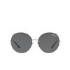Vogue® Round Sunglasses: VO4081S color Silver 323/87 - product thumbnail 1/3.