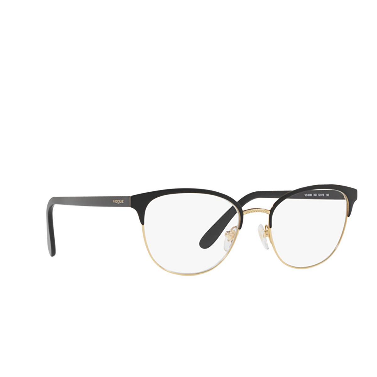 Vogue® Cat-eye Eyeglasses: VO4088 color Black 352.