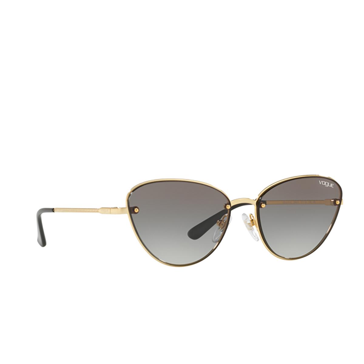 Vogue® Cat-eye Sunglasses: VO4111S color Gold 280/11 - 2/3.