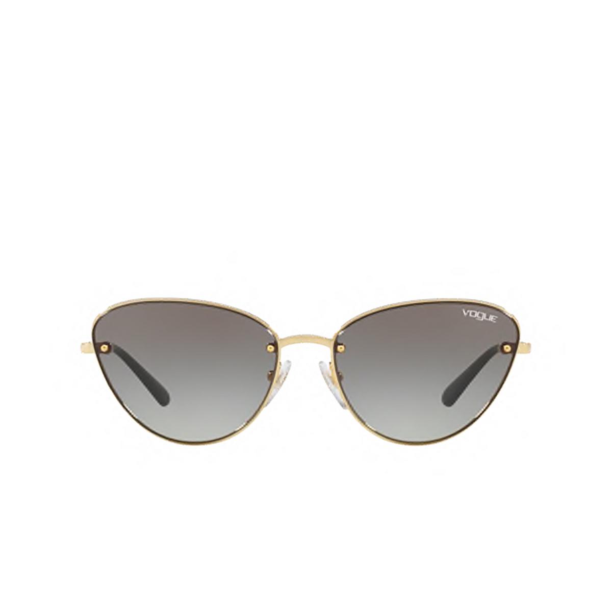 Vogue® Cat-eye Sunglasses: VO4111S color Gold 280/11 - 1/3.