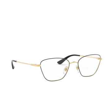 Vogue® Irregular Eyeglasses: VO4163 color Top Black / Gold 280.