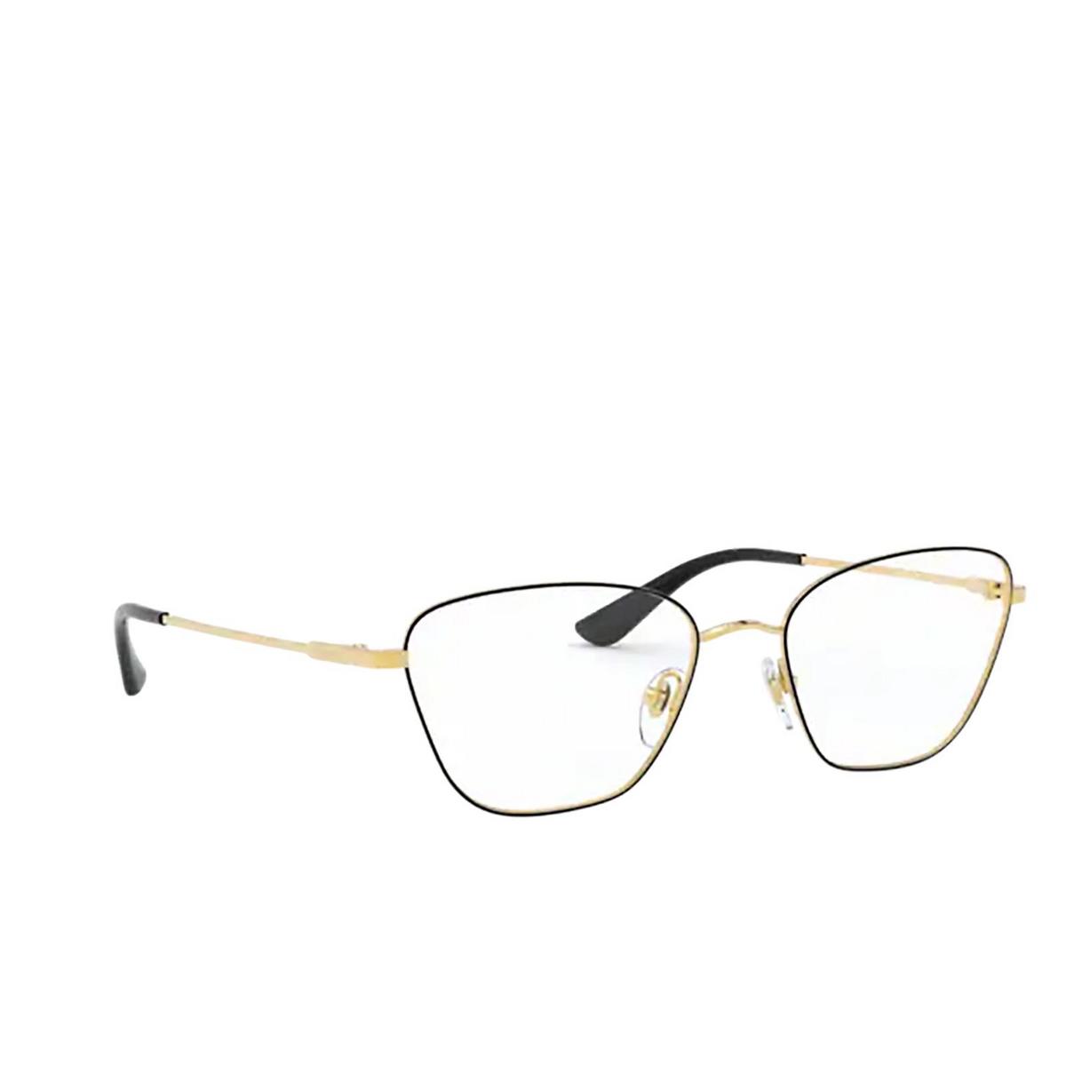 Vogue® Irregular Eyeglasses: VO4163 color Top Black / Gold 280.
