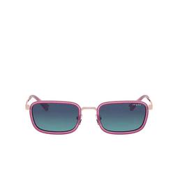 Vogue® Rectangle Sunglasses: VO4166S color Rose Gold 50754S.