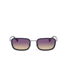 Vogue® Rectangle Sunglasses: VO4166S color Gunmetal 548/70.