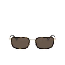 Vogue® Rectangle Sunglasses: VO4166S color Pale Gold 848/73.