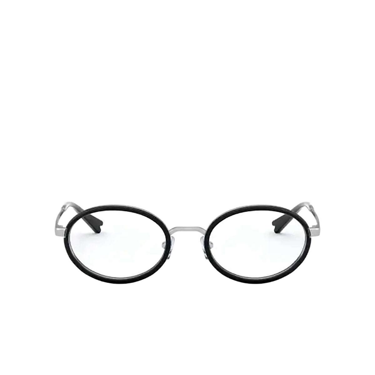 Vogue® Oval Eyeglasses: VO4167 color Black 323 - front view.