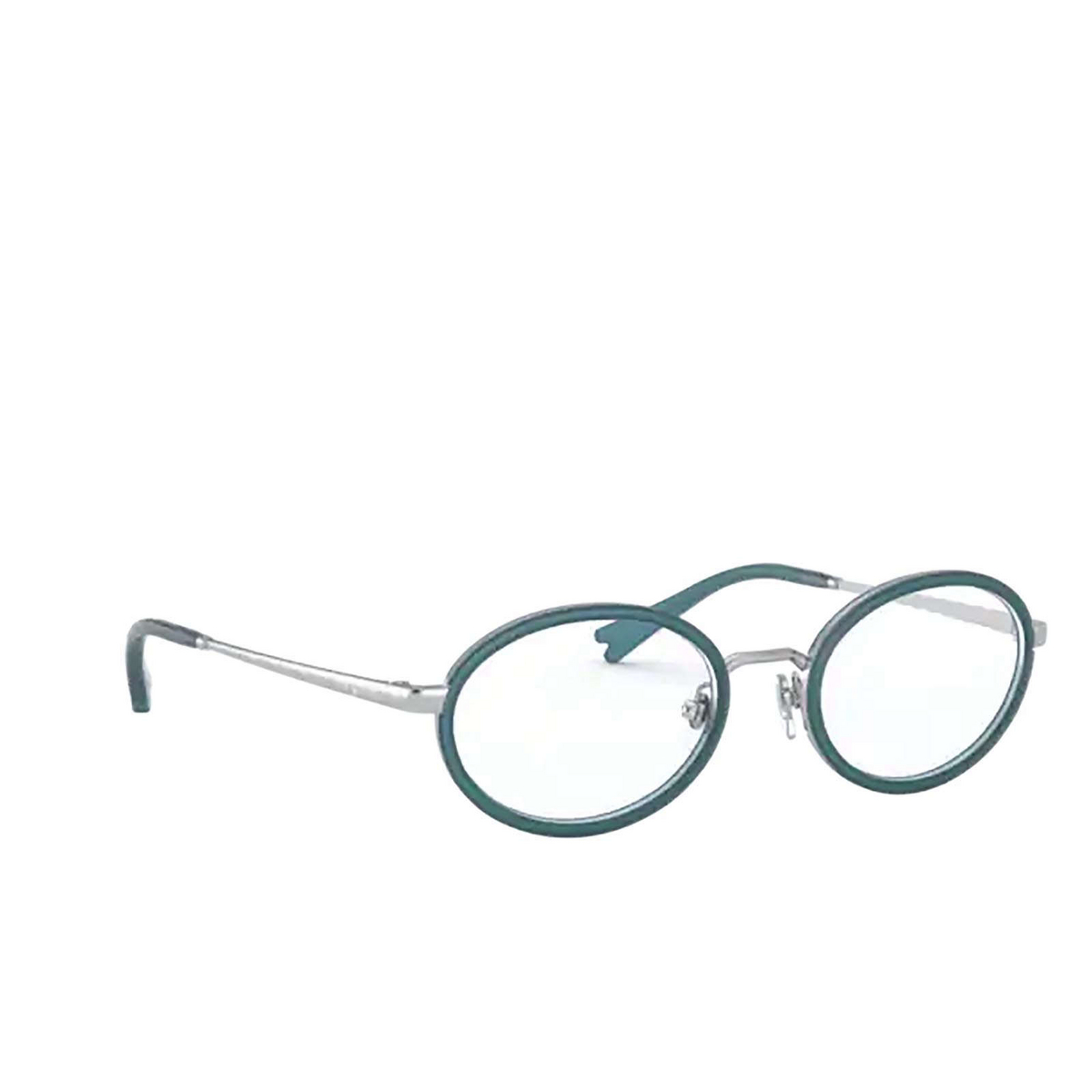 Vogue® Oval Eyeglasses: VO4167 color Silver 5123 - three-quarters view.