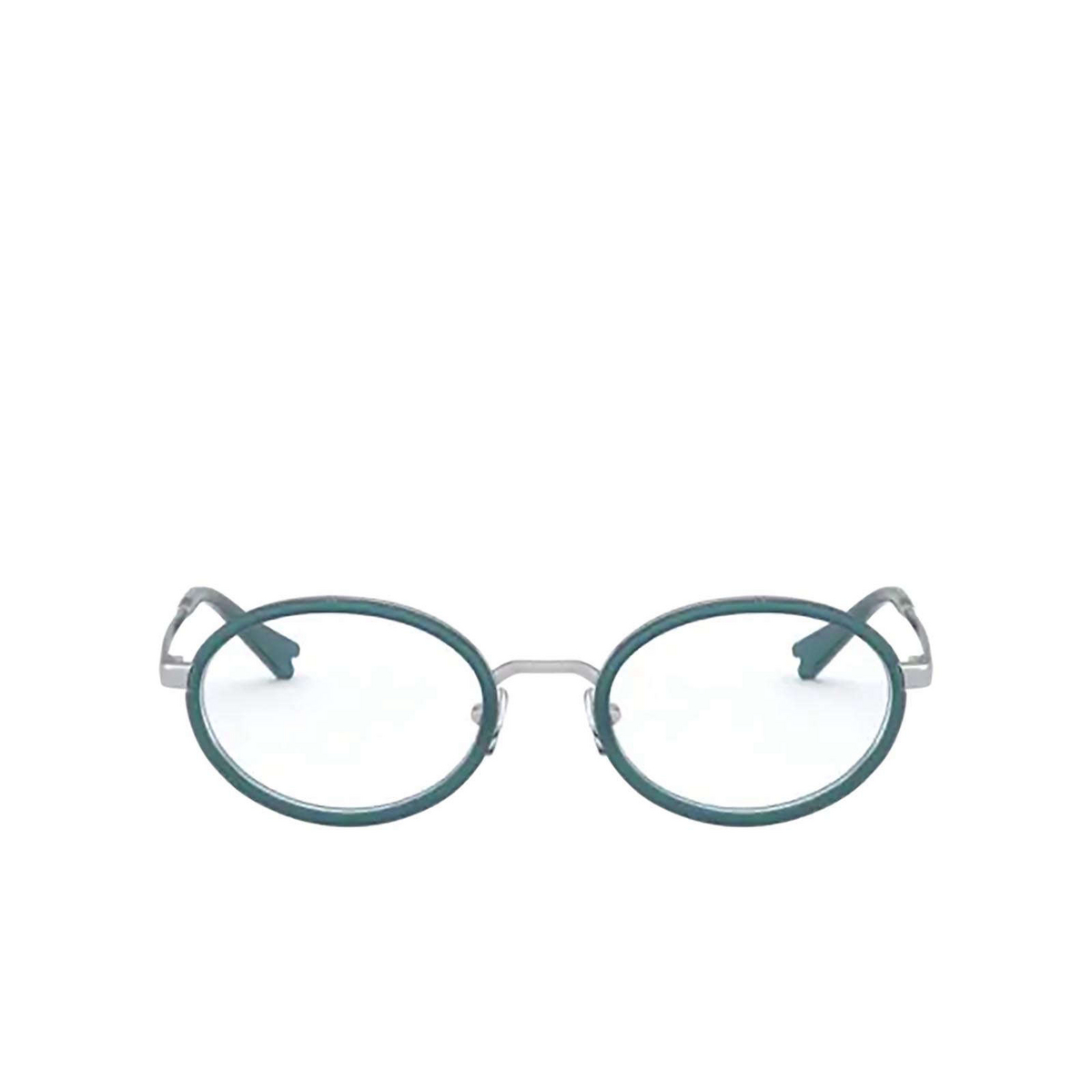 Vogue® Oval Eyeglasses: VO4167 color Silver 5123 - front view.