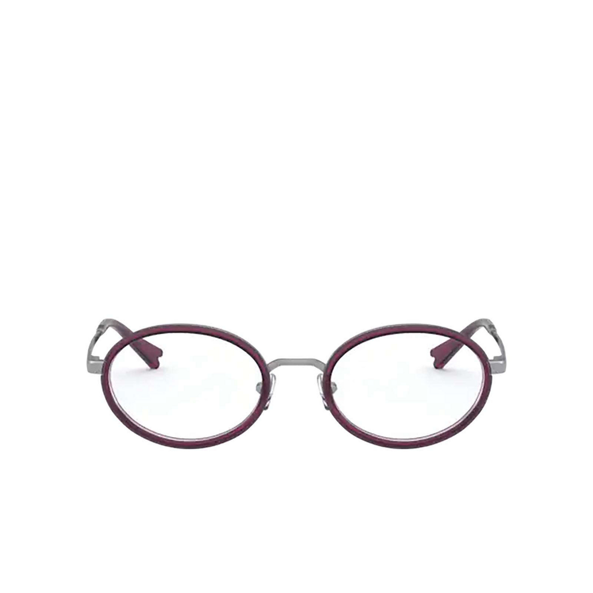 Vogue® Oval Eyeglasses: VO4167 color Gunmetal 548 - front view.