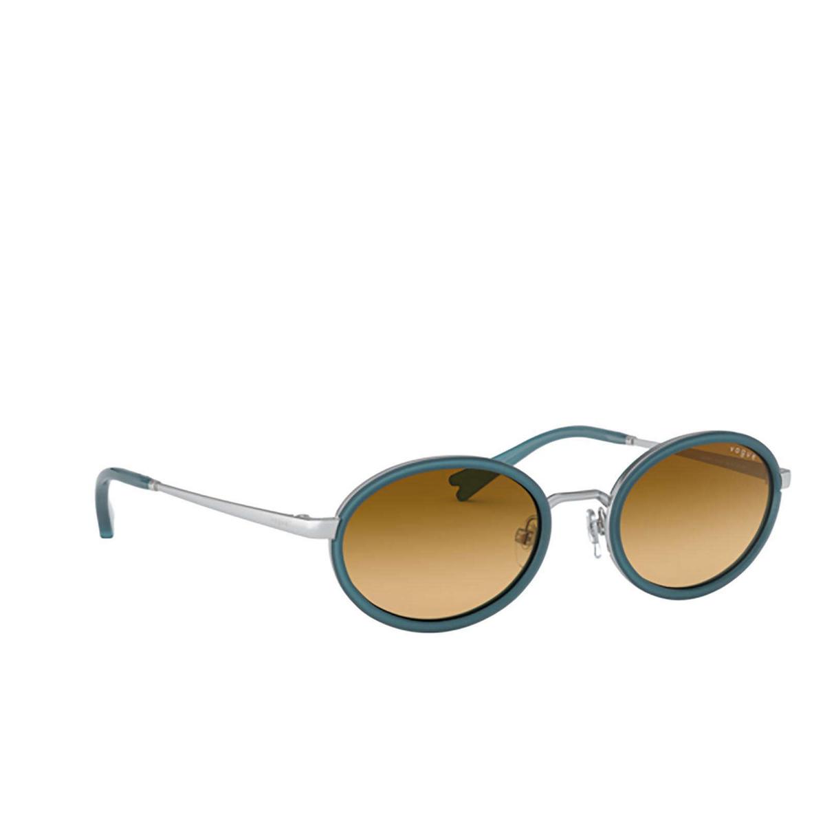 Vogue® Oval Sunglasses: VO4167S color Silver 51232L - 2/3.