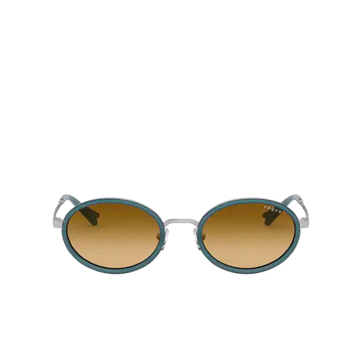 Vogue® Oval Sunglasses: VO4167S color Silver 51232L - 1/3.
