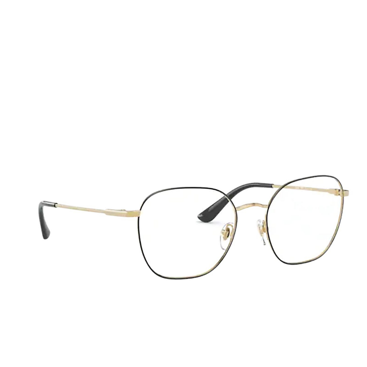 Vogue® Square Eyeglasses: VO4178 color Top Black / Gold 280.
