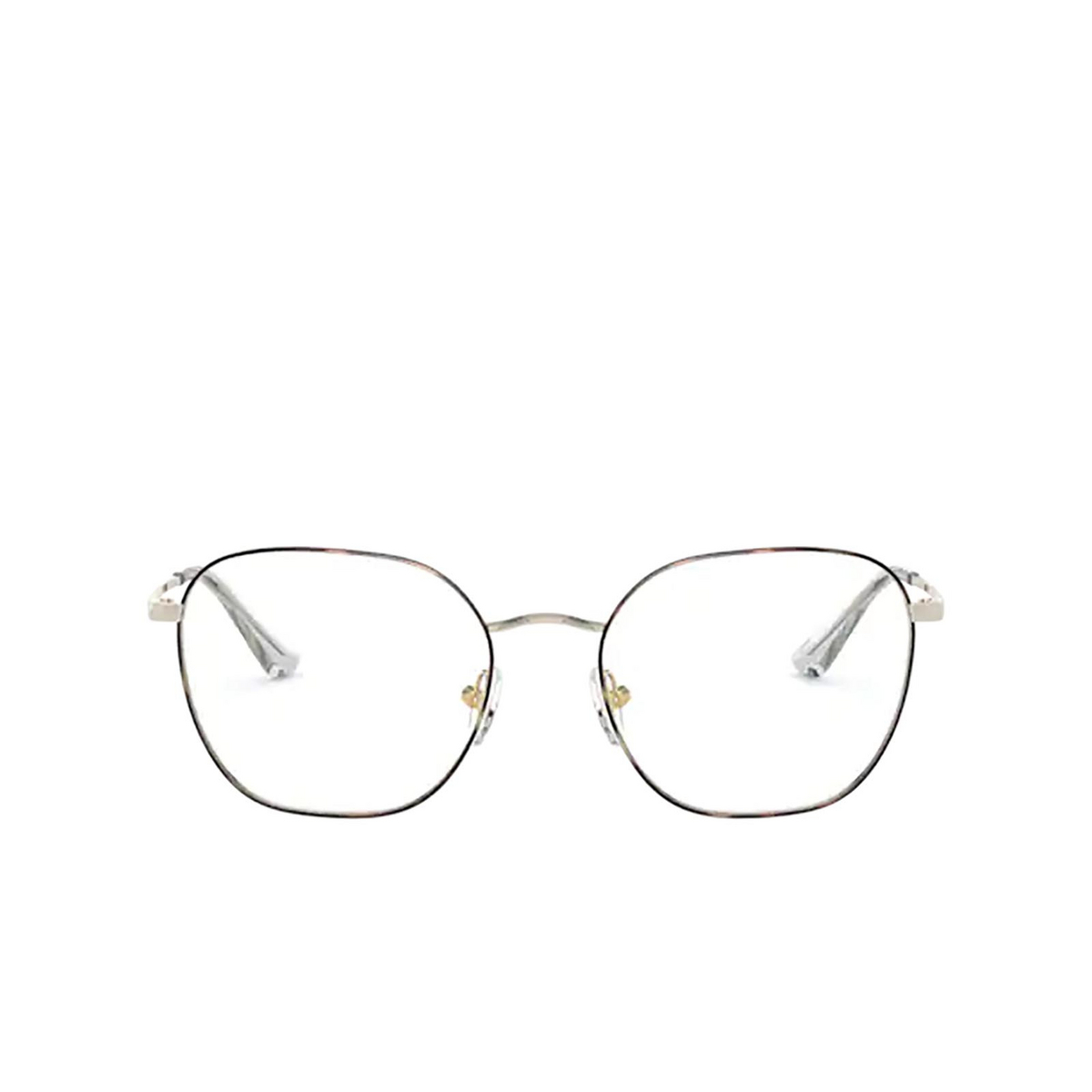 Vogue® Square Eyeglasses: VO4178 color Top Havana / Pale Gold 5078.