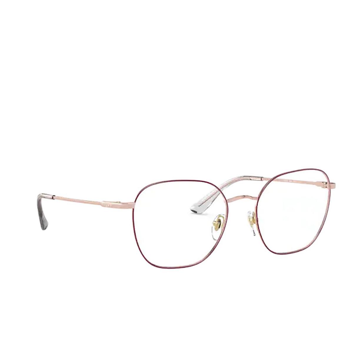 Vogue® Square Eyeglasses: VO4178 color Top Purple / Rose Gold 5089.