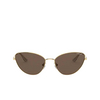 Vogue® Cat-eye Sunglasses: VO4179S color Gold 280/73 - product thumbnail 1/3.