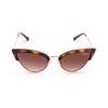Vogue® Cat-eye Sunglasses: VO5212S color Top Dark Havana / Pale Gold W65613 - product thumbnail 1/4.