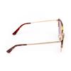 Vogue® Cat-eye Sunglasses: VO5212S color Top Dark Havana / Pale Gold W65613 - product thumbnail 4/4.