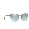 Vogue® Butterfly Sunglasses: VO5230S color Top Sand Gradient Sand Transparent 26427C - product thumbnail 2/3.