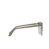 Vogue® Butterfly Sunglasses: VO5230S color Top Sand Gradient Sand Transparent 26427C - product thumbnail 3/3.