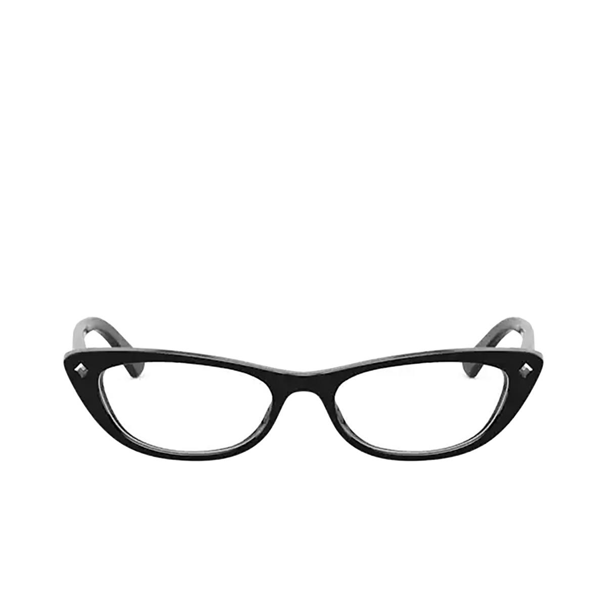 Vogue® Cat-eye Eyeglasses: VO5236BM color Black W44.