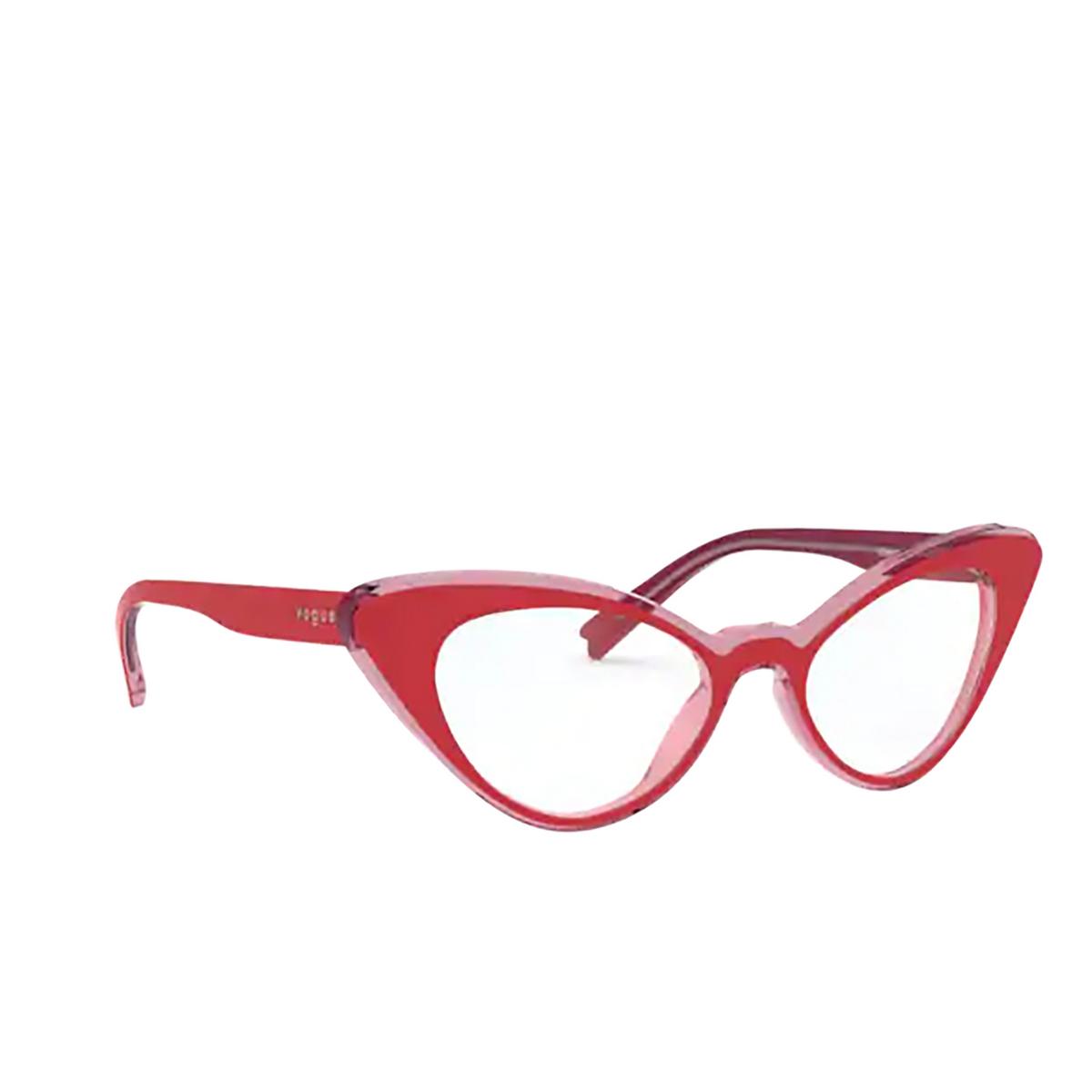 Vogue® Cat-eye Eyeglasses: VO5317 color Top Red / Pink Transparent 2811.
