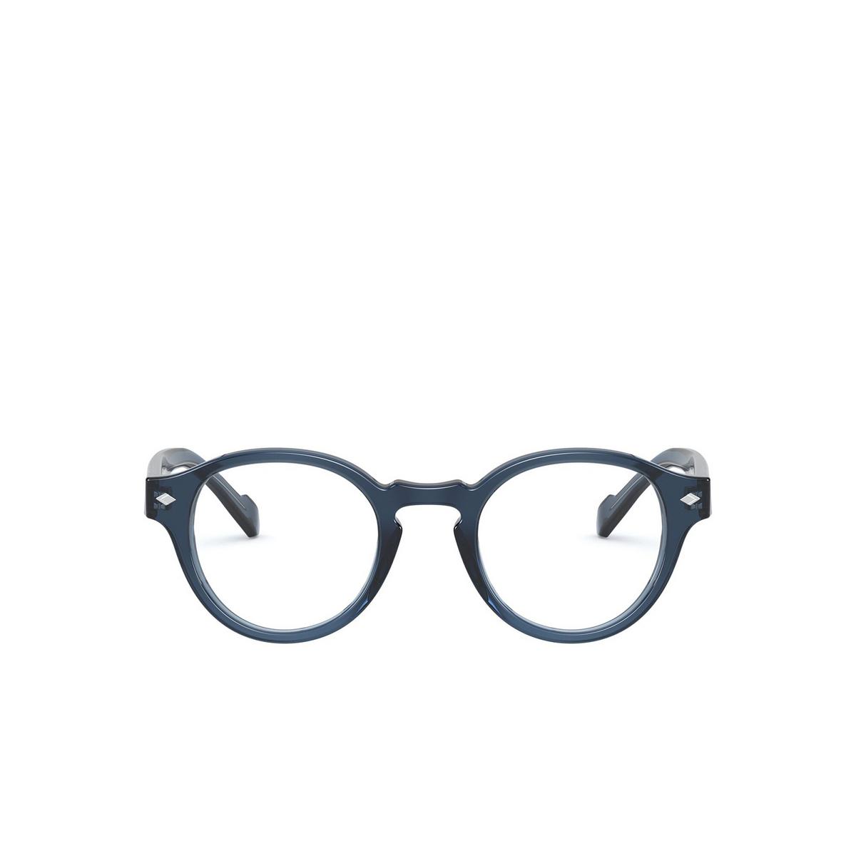Vogue® Round Eyeglasses: VO5332 color Transparent Blue 2760 - front view.