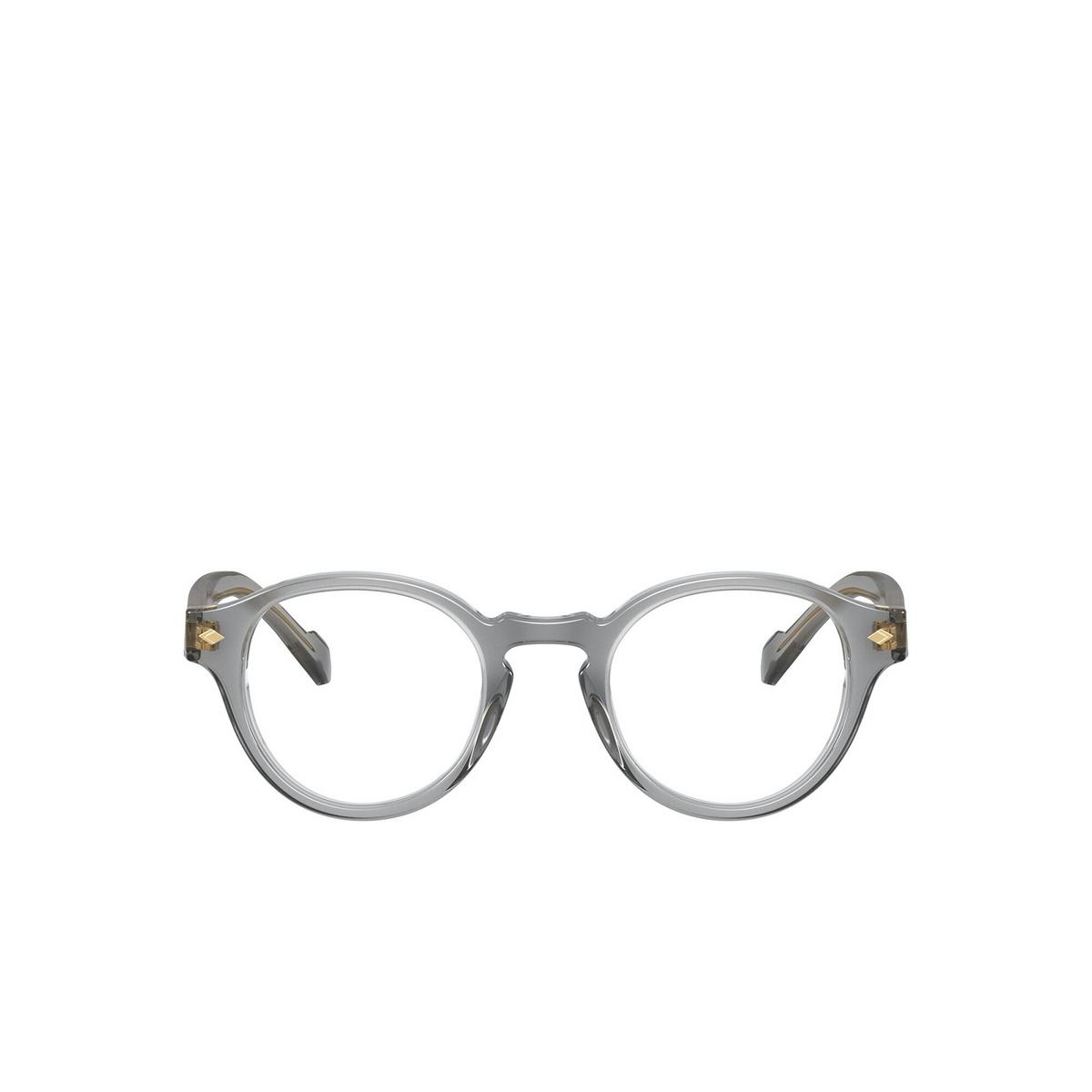 Vogue® Round Eyeglasses: VO5332 color Transparent Grey 2820 - front view.