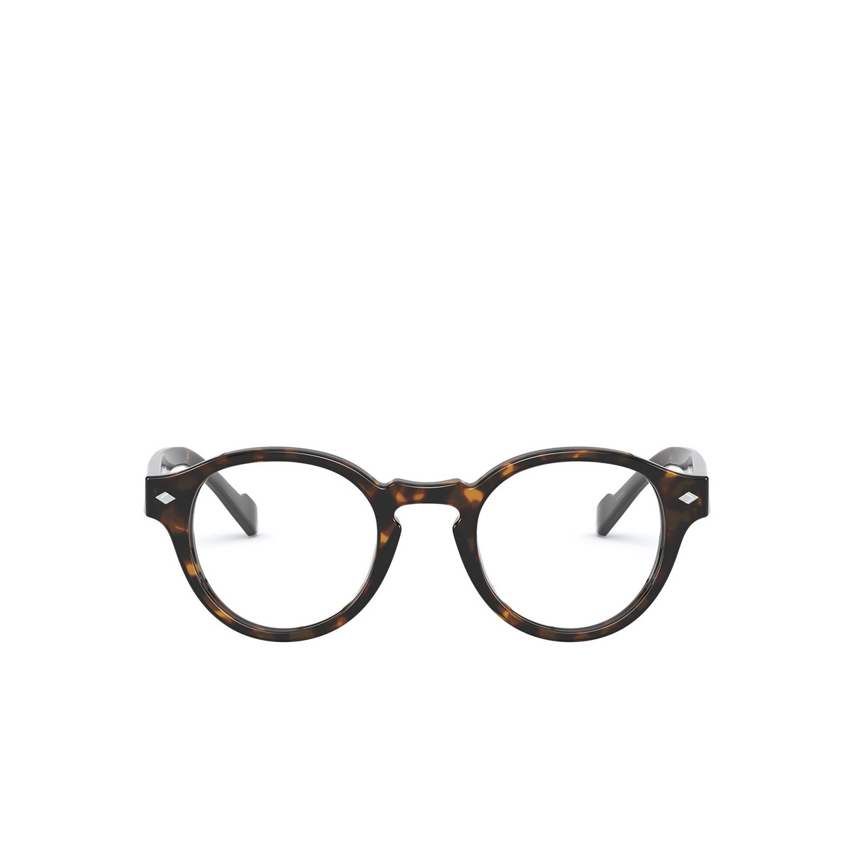 Vogue® Round Eyeglasses: VO5332 color Dark Havana W656 - front view.