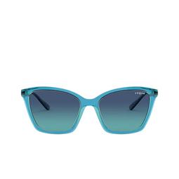 Vogue® Sunglasses: VO5333S color Top Blue / Transparent Green 28464S.