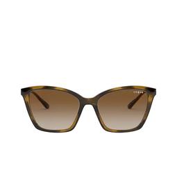 Vogue® Sunglasses: VO5333S color Dark Havana W65613.