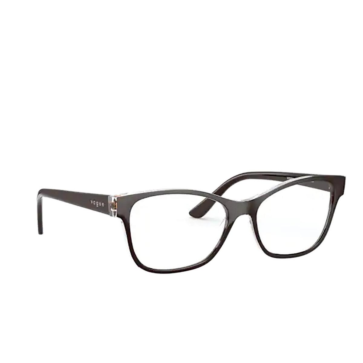 Vogue® Square Eyeglasses: VO5335 color Top Brown / Serigraphy 2842.