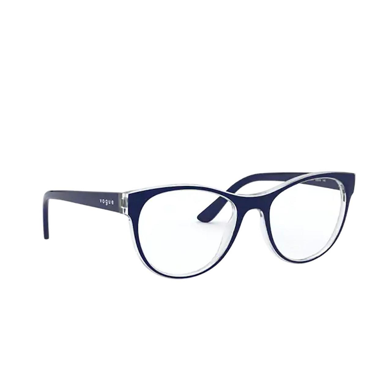 Vogue® Cat-eye Eyeglasses: VO5336 color Top Blue / Serigraphy 2841.