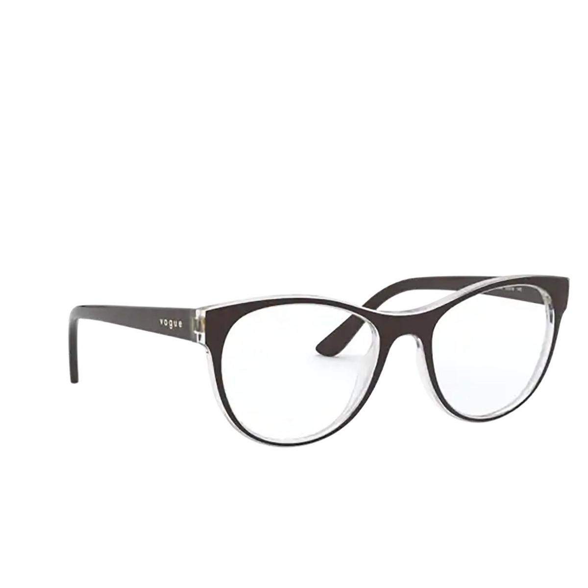 Vogue® Cat-eye Eyeglasses: VO5336 color Top Brown / Serigraphy 2842.