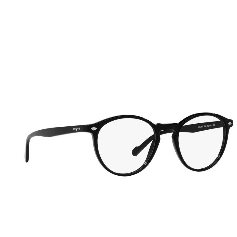 Vogue® Round Eyeglasses: VO5367 color Black W44.