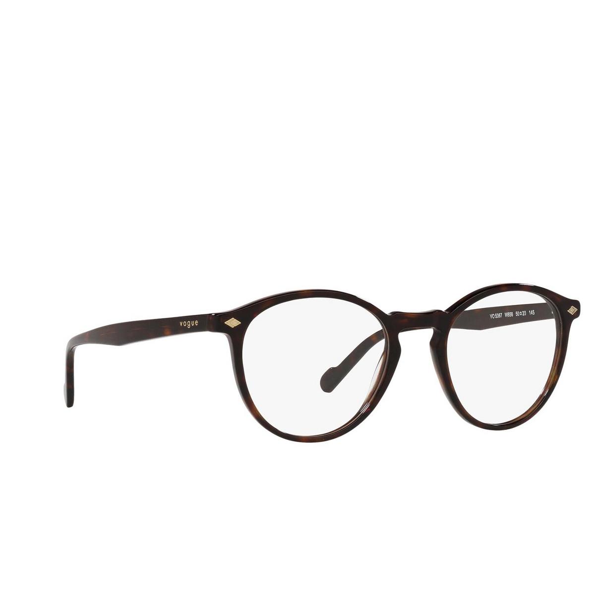 Vogue® Round Eyeglasses: VO5367 color Dark Havana W656.