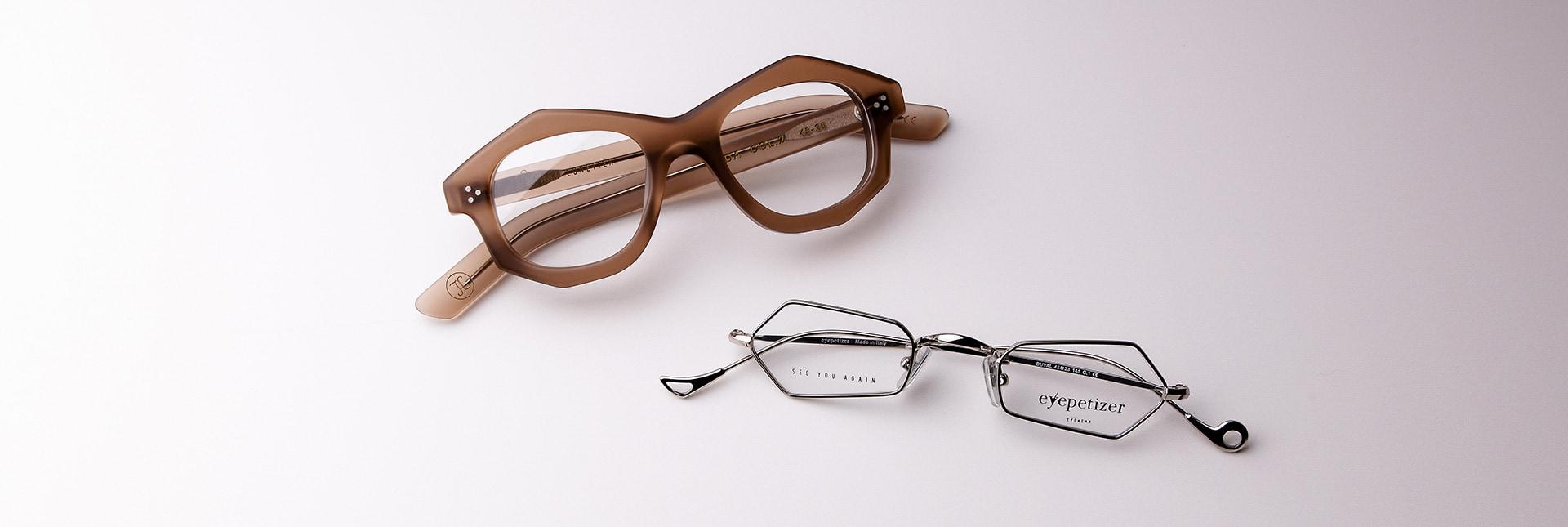 Irregular Eyeglasses