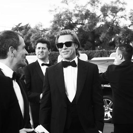 Brad Pitt wearing GLCO Calabar
