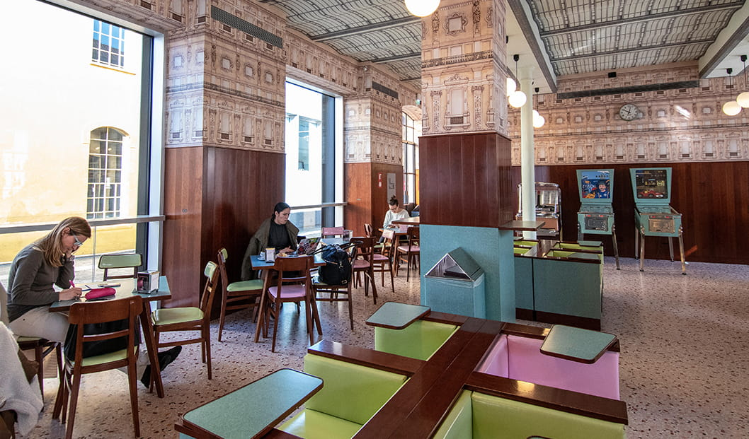 Bar Luce Fondazione Prada Milan