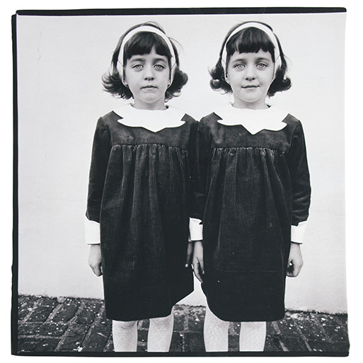 Identical Twins, Roselle, New Jersey. Captured by Diane Arbus, 1966.