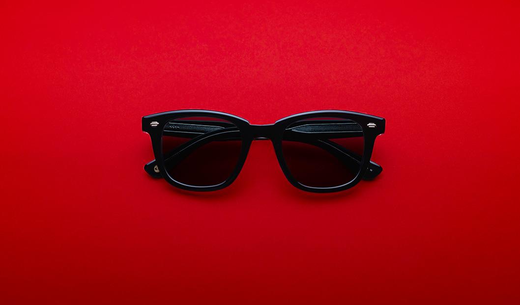 GARRETT LEIGHT CALABAR BKLCY-SFBS Black Laminate
