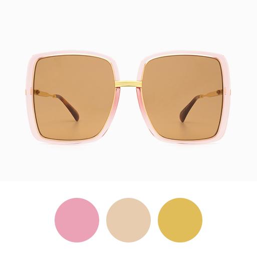 GUCCI GG0903S 002 Pink rim / Shiny Yellow Gold Gucci